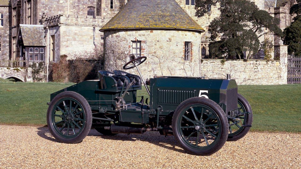 Napier Gordon Bennett British Racing Green