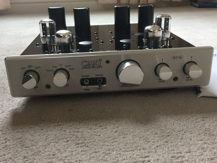 Cary Audio Design SLP-98L Tube Preamp w/ UPGRADED TUBES!!!