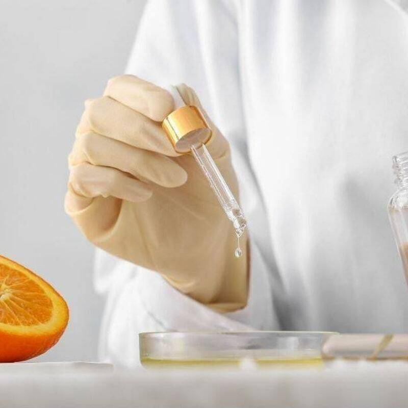 woman producing rite gummies in a laboratory