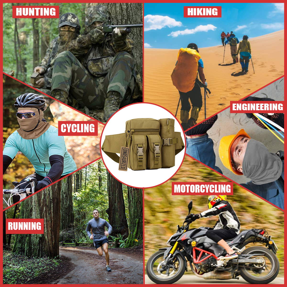 camping hunting gear