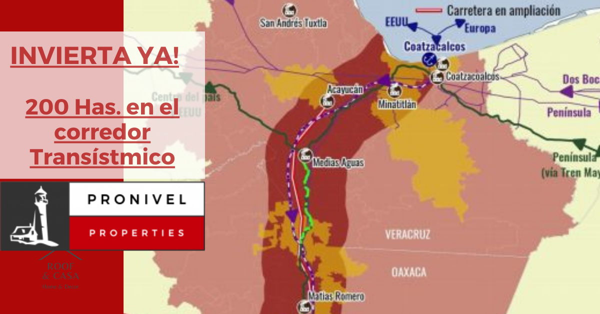 Corredor Transístmico México