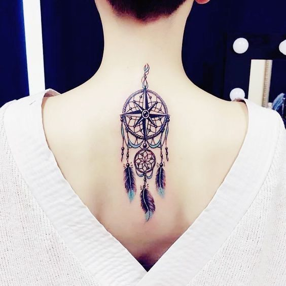 Favorit Magazine - Origine et signification du tatouage attrape-rêve  VD96