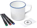 Customizable Mug with card and markers