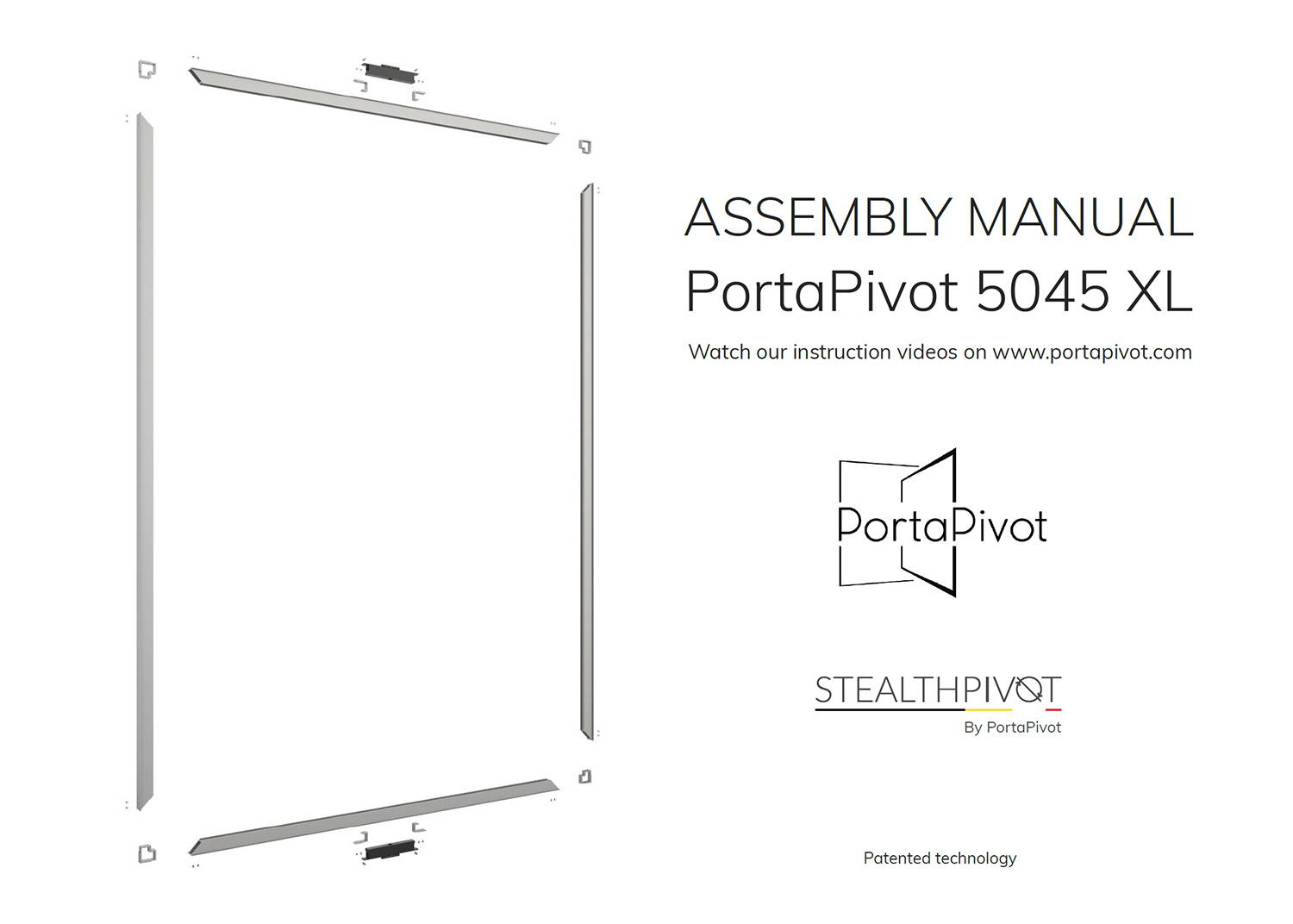 portapivot 5045 XL assembly manual