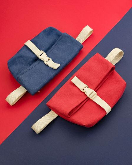 Поясная сумка из канваса, оригинальная