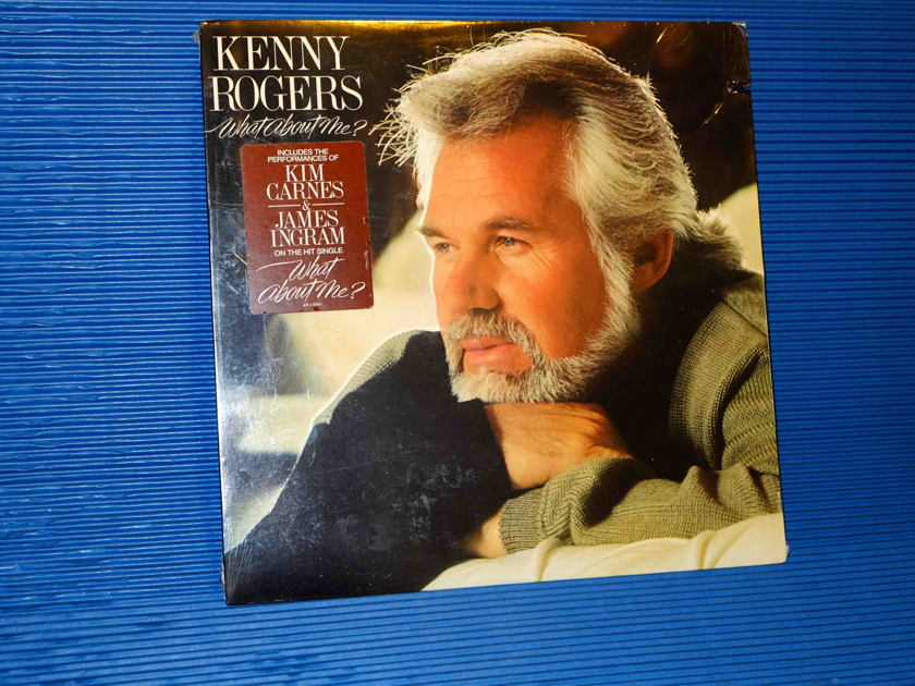"KENNY ROGERS  - ""What About Me?"" -  RCA 1984 SEALED"