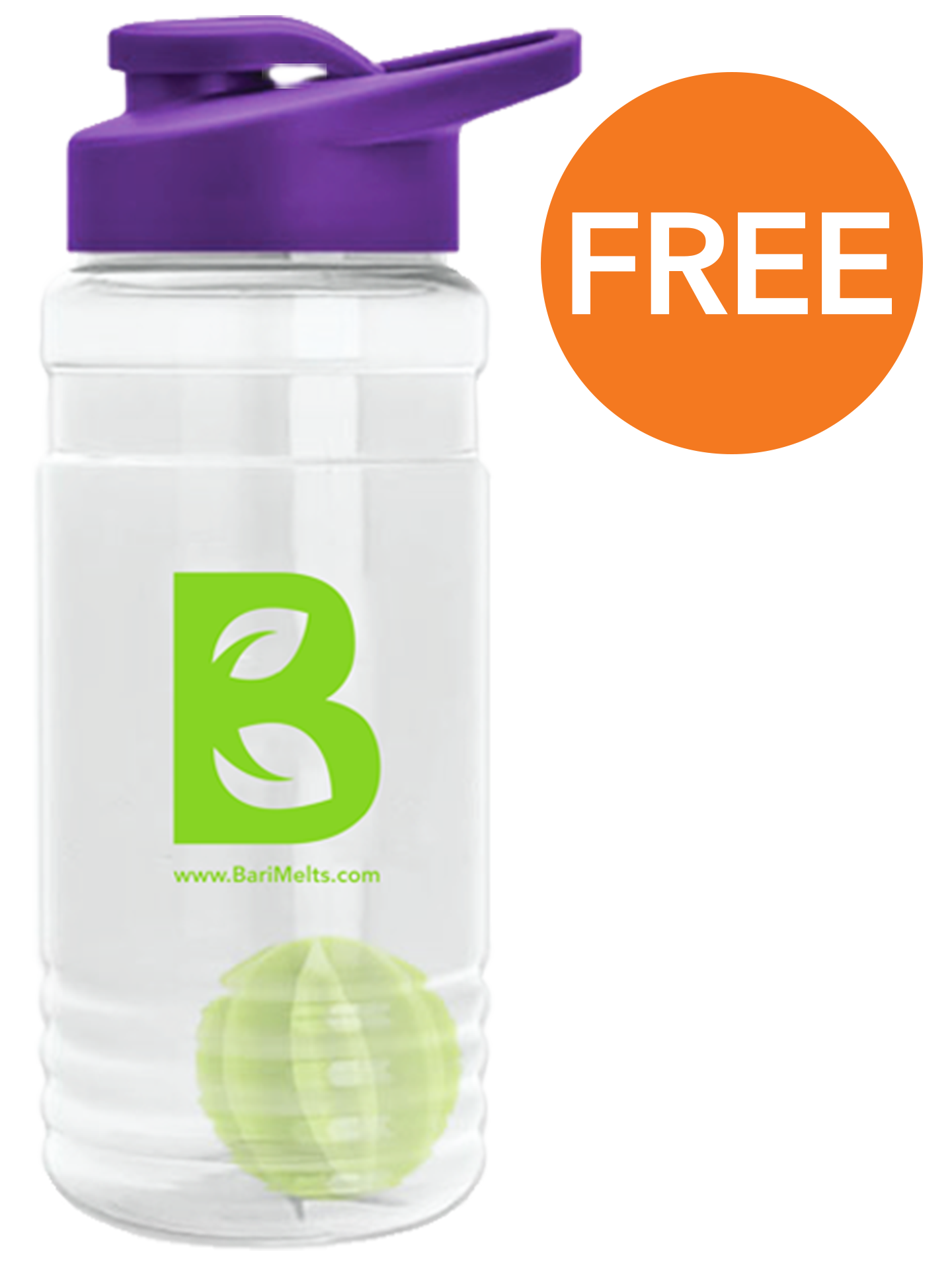 Barimelts shaker bottle