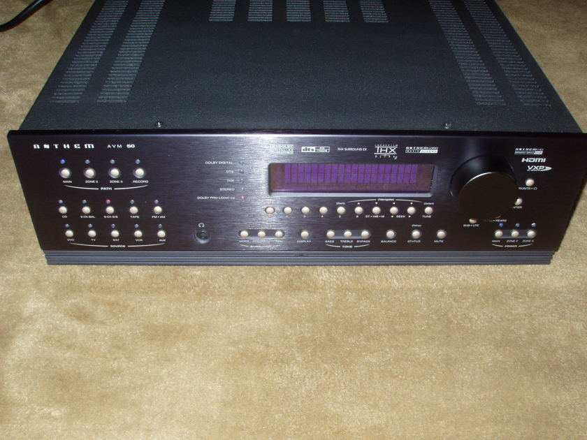 Anthem  AVM-50  Home Theater Processor LIKE NEW Condition! PRICE DROP FIRM!