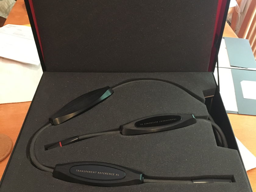 Transparent Audio Reference XL (BRXL) MM2 Balanced Cable, XLR 2 Meter