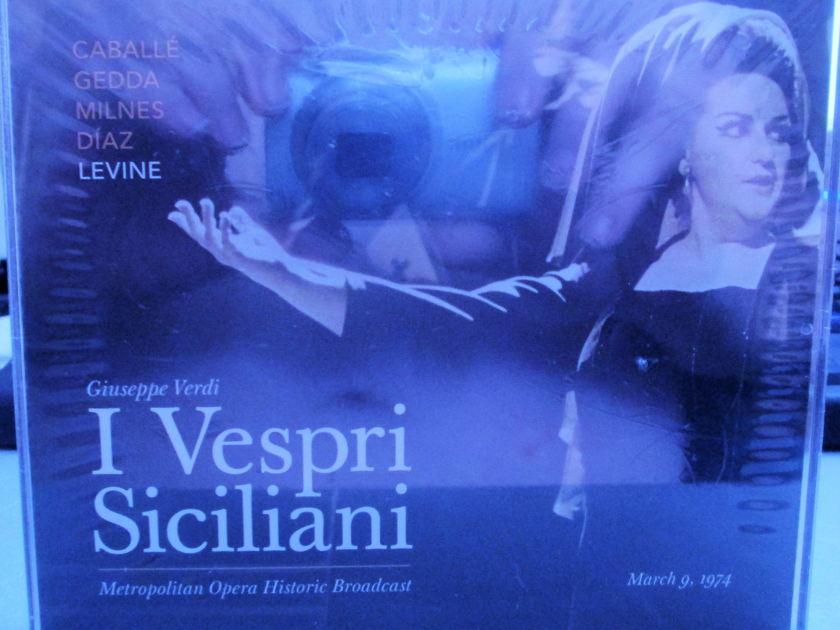 Montserrat Caballe' - Verdi: I Vespri Siciliani Metropolitan Opera