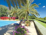 House for sale with beautiful garden and pool, San Carlos, Ibiza