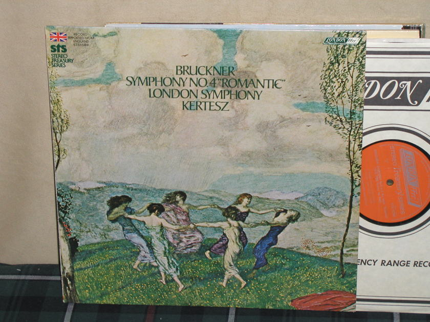 "Kertesz/LSO - Bruckner Sym.4 ""Romantic"" London ffrr sts 15289 (thick)"