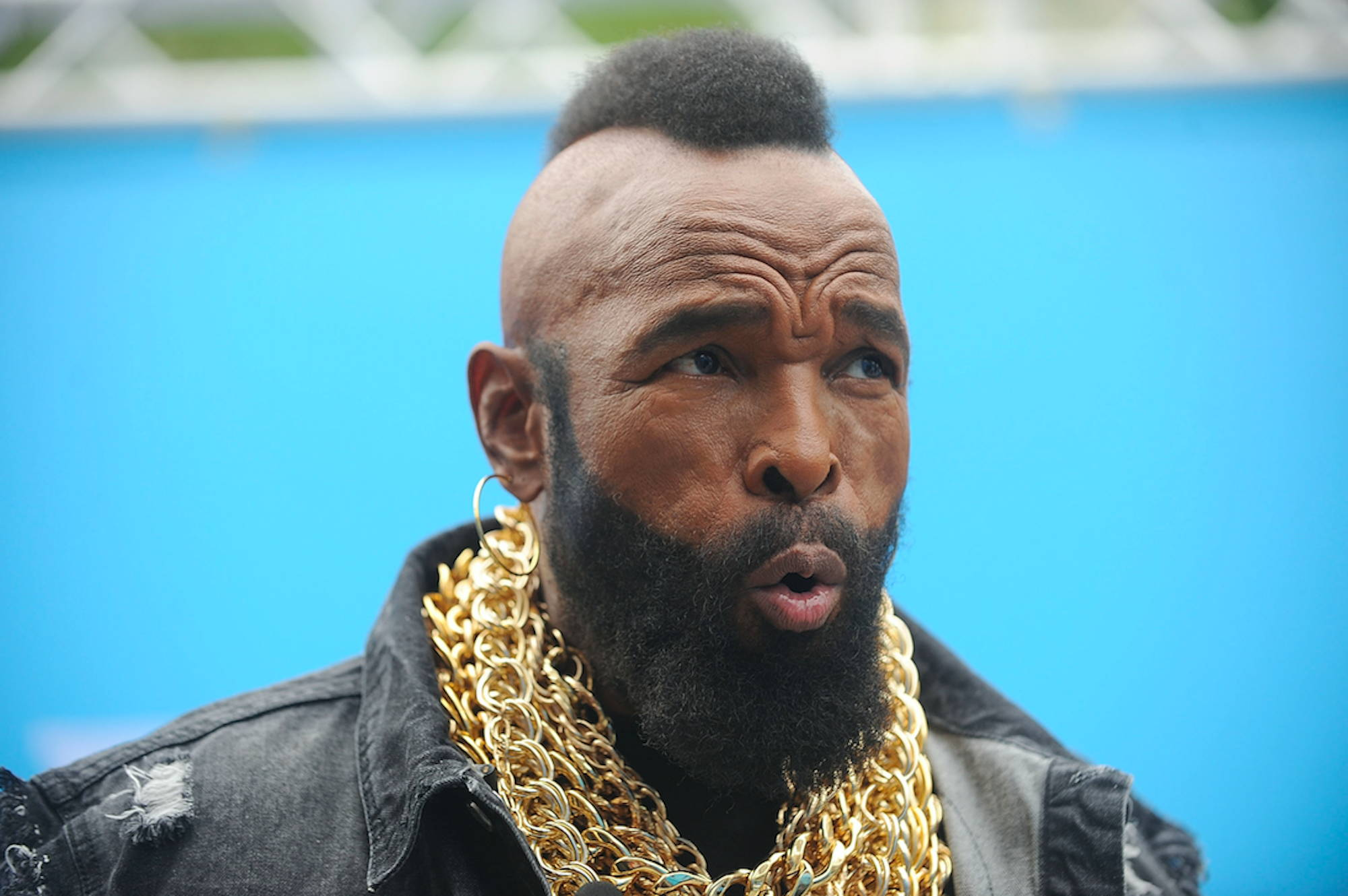 Mr T Trying Man Made Beard Care
