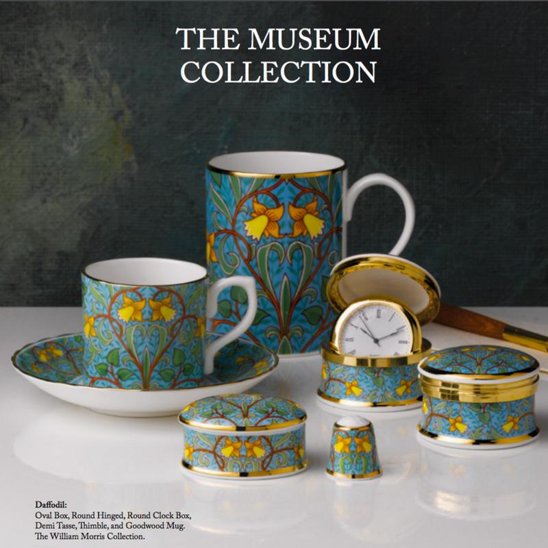 William Morris Museum Collection brochures