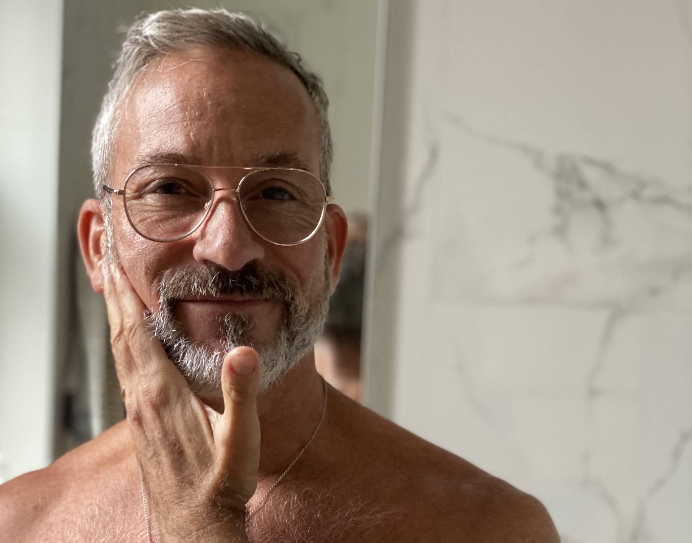 Davines mens beard self care Pasta & Love shaving set