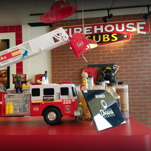Picture of Firehouse Subs locations in the Omaha area are open for takeout, third-party delivery, curbside service