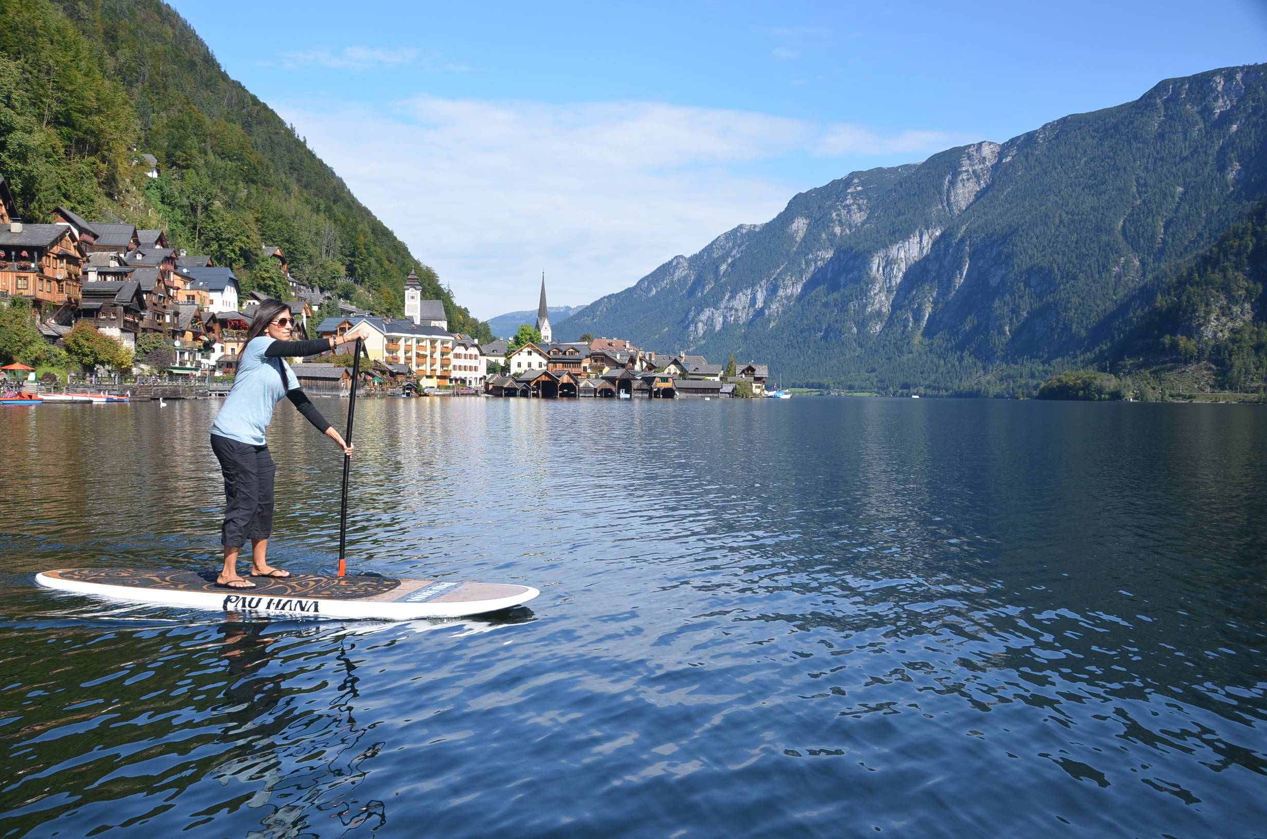 This is the best beginner paddle board.Oahu SUP in germany