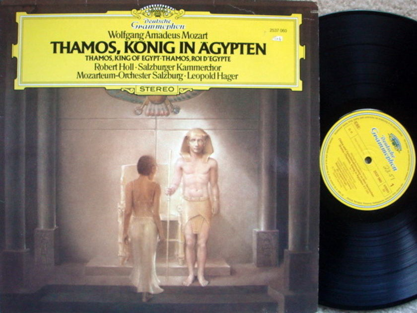 DG / HAGER-MOS, - Mozart Thamos-King of Egypt, NM!