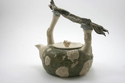 Заварочный Чайник. Белые Наросты с корягой. В НАЛИЧИИ