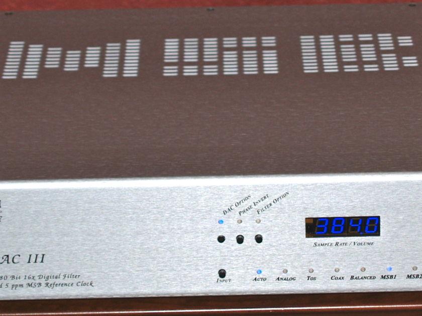MSB Technology Platinum DAC III