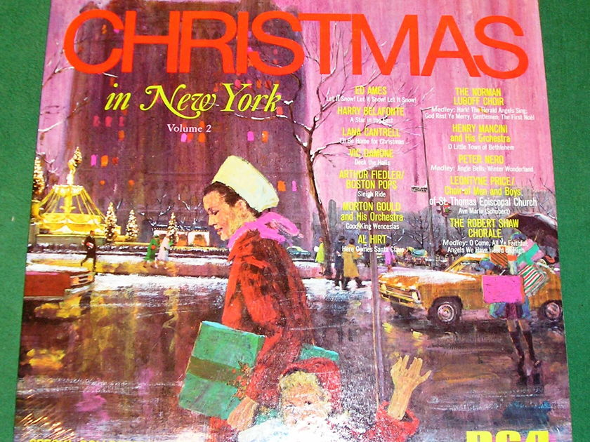 CHRISTMAS IN NEW YORK Vol. 2 - * 1968 RCA SPECIAL COLLECTOR'S EDITION * NEW/SEALED