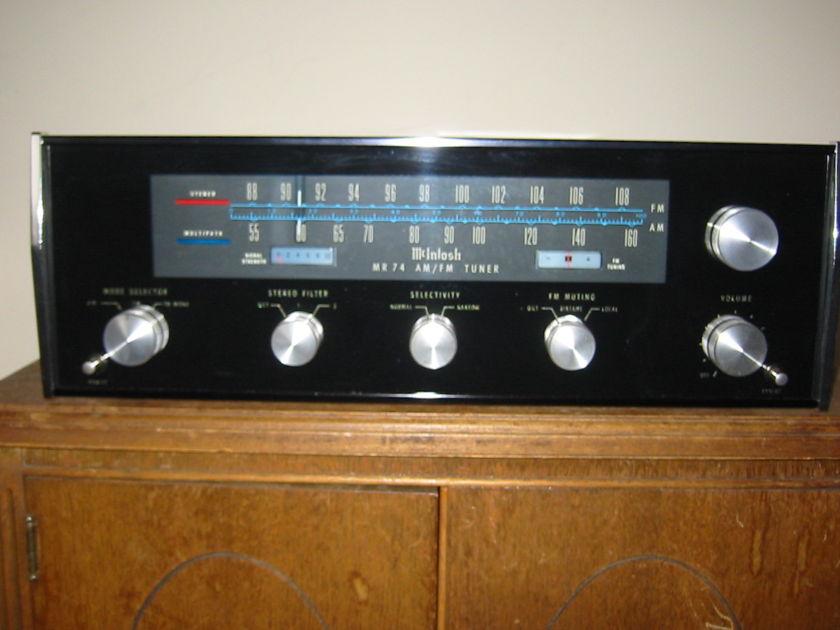 McIntosh MR74 Absolute Sound Labs Restored
