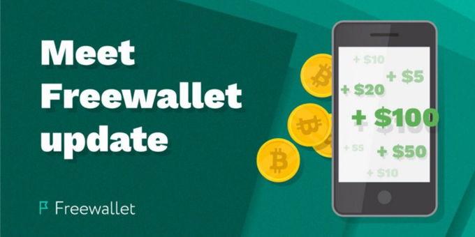Meet Freewallet March update