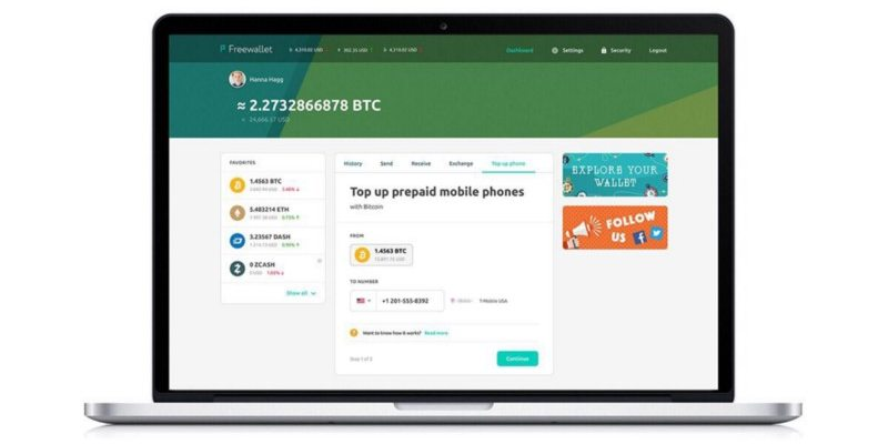 top up phone with Bitcoin