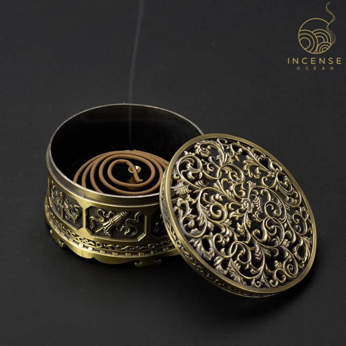 Nepalese Classic Metal Incense Holder