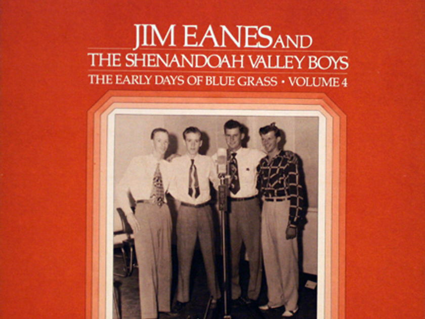 Jim Eanes & The Shenandoah Valley Boys - The Early Days Of Blue Grass-Volume 4