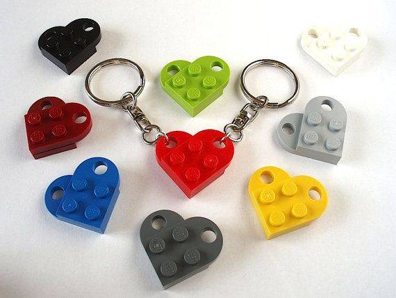 Customized Heart Shaped Key Rings