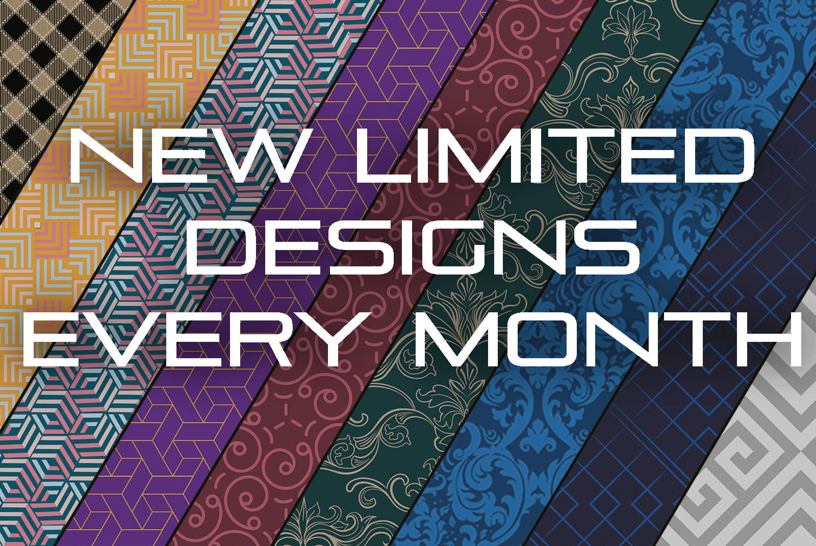 New limited designs every month - SOBEK
