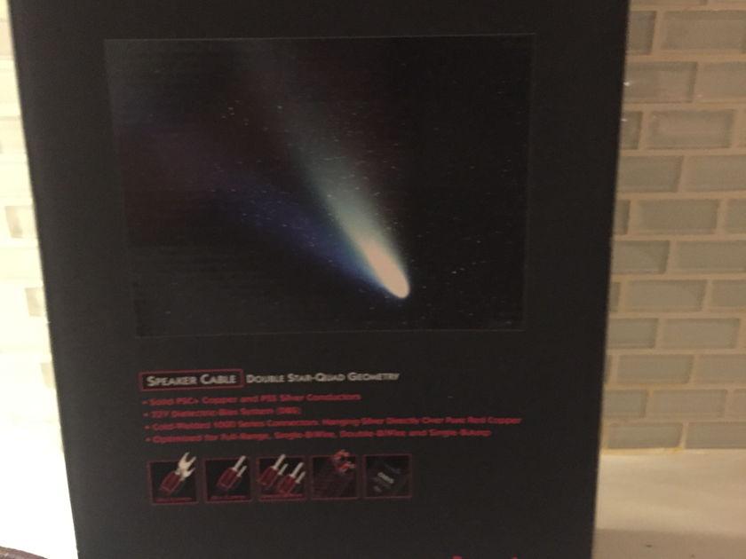 audioquest Comet . 7.2dbs biwire , 7ft signature spade Comet