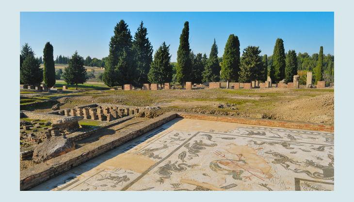 roemische mosaik