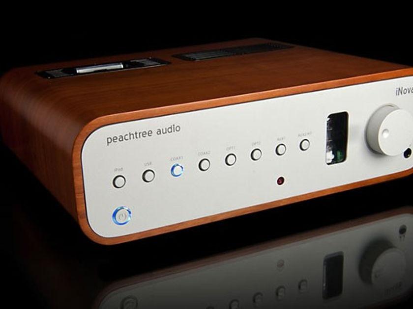 Peachtree Audio iNova Like New Cherry Cabinet w/ Box & Remote 1 Home