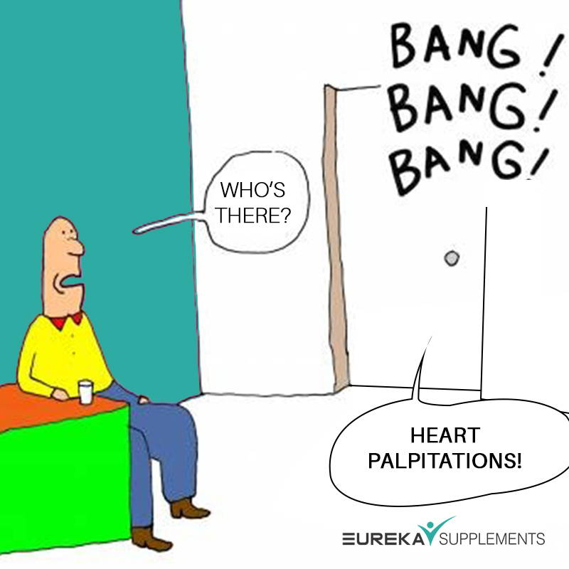 Menopause symptoms heart palpitations