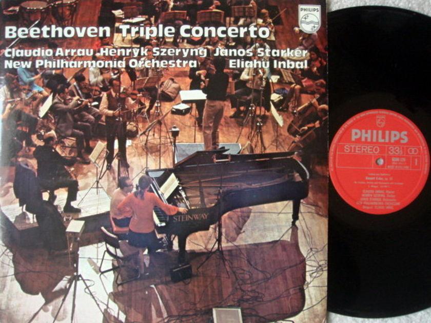 Philips / SZERYNG-STARKER-ARRAU, - Beethoven Triple Concerto, NM!