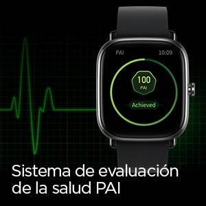 Amazfit GTS 2 mini - Sistema de evaluación de la salud PAI