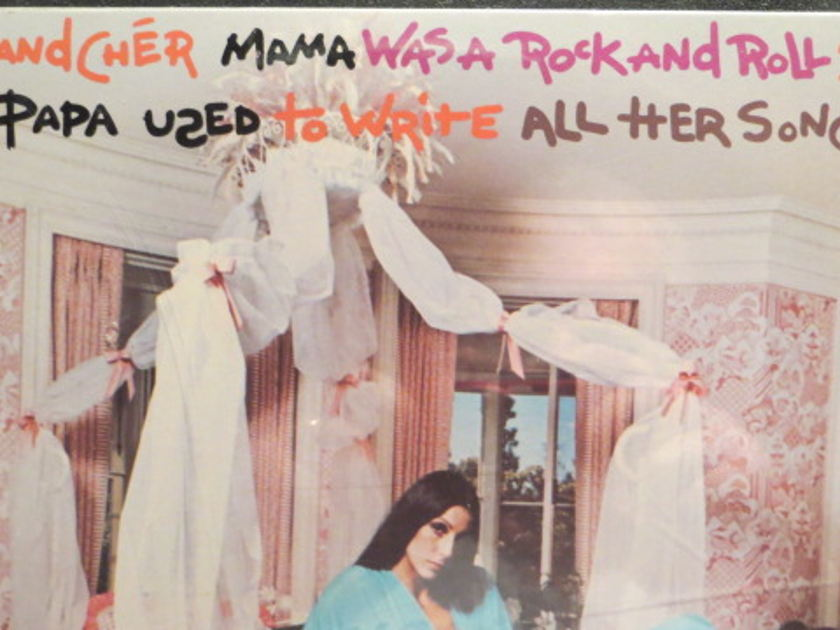 SONNY + CHER - MAMA WAS A ROC AND ROL SINGERPAWRITEALLHERSONGS SEALED NO BARCODE