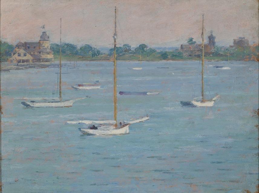 Impressionism Yacht