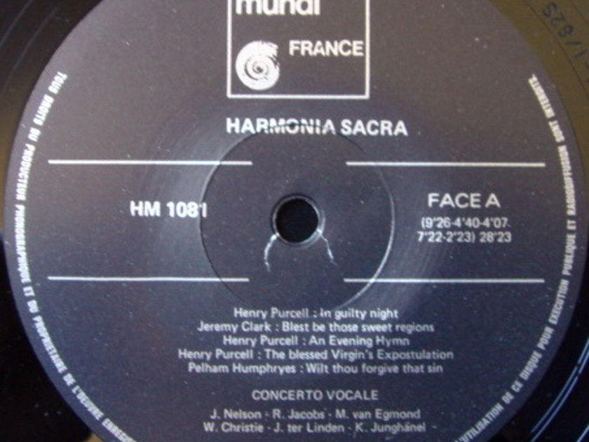 ★Audiophile★ Harmonia Mundi / LINDEN-CHRISTIE, - Harmonia Sacra, NM!