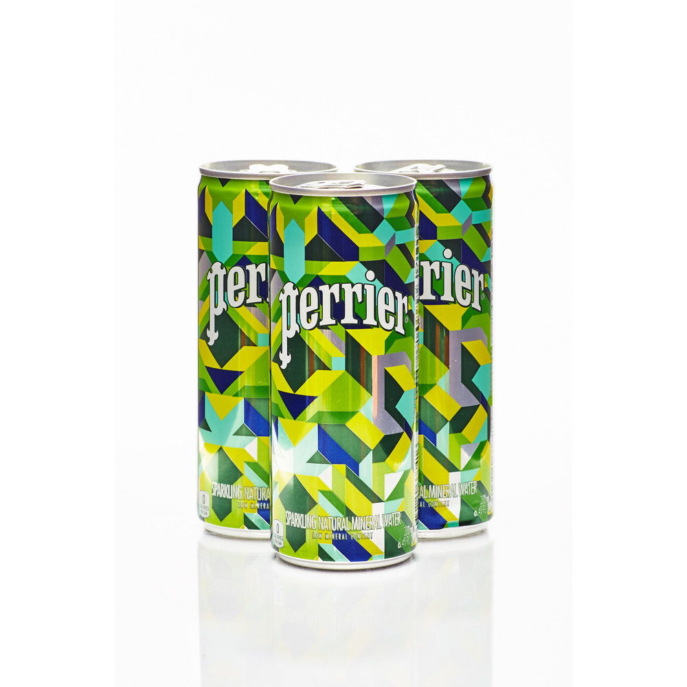 Perrier limited-edition packaging