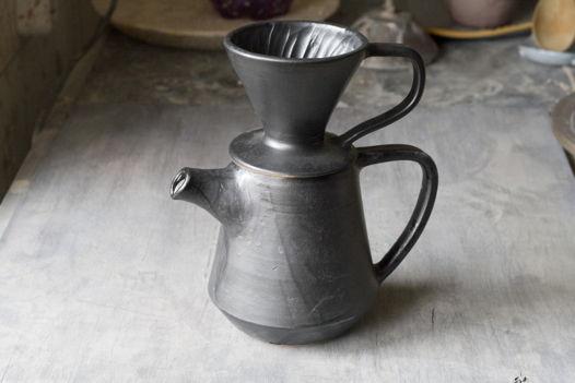 Набор для пуровер-заваривания кофе (кофейник и воронка)