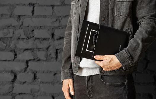 Чехол для планшета из натуральной кожи, модель Tablet Case. Black