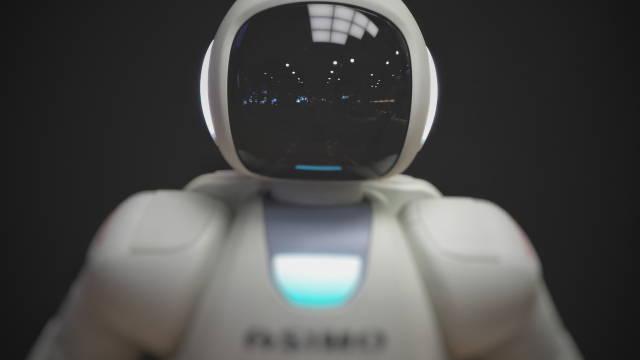 Et billede af en robot