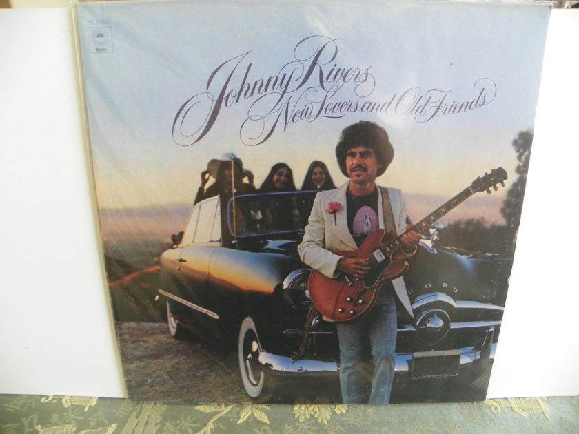 JOHNNY RIVERS - NEW LOVERS AND OLD FRIENDS Rare