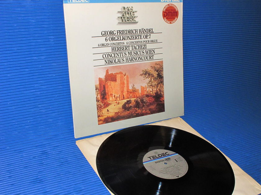 "HANDEL/Tachezi -  - ""6 Organ Concertos"" - Teldec DMM German import"