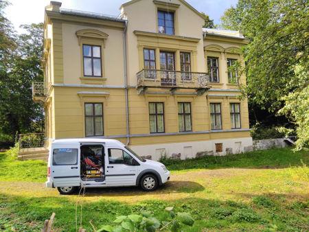 Fjerning av mye graffiti og tagging for Boligbygg Oslo KF bilde