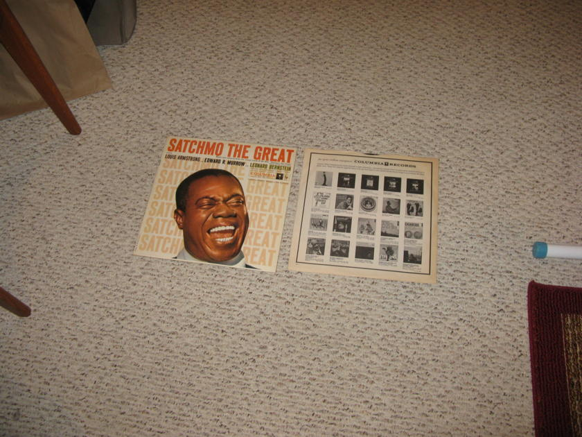 Louis Armstrong - Satchmo The Great Original Columbia Six Eye Mono PRICE BREAK