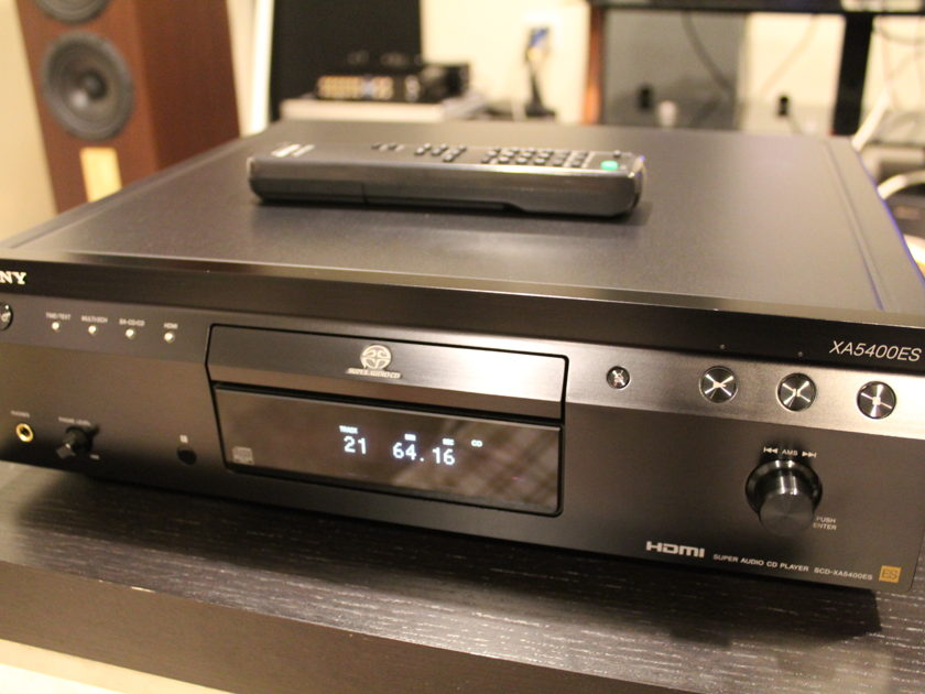 Sony SCD XA5400ES SACD Player. Excellent CD Player. Stereophile Class A+